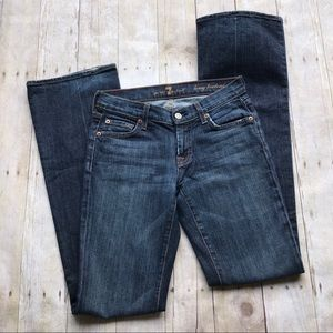 Seven for all mankind long bootcut size 25  jeans